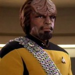 Dorn as Worf
