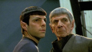 Spock & Spock - Quinto & Nimoy